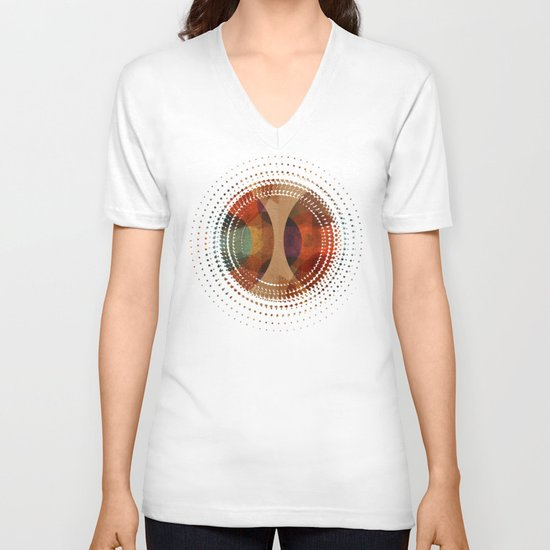 Textures/Abstract 80 V-neck T-shirt