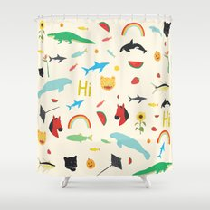 All Together Shower Curtain