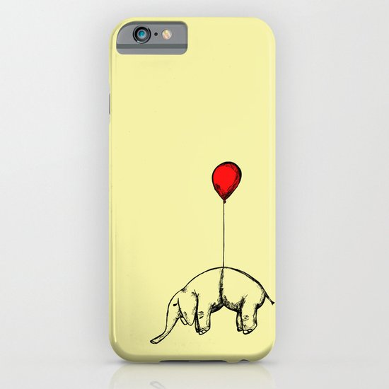 Red Elephant iPhone & iPod Case