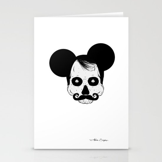 Mickey Mouse Stationery Card