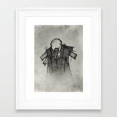 Wraith III. Framed Art Print