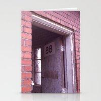 door 98 Stationery Cards