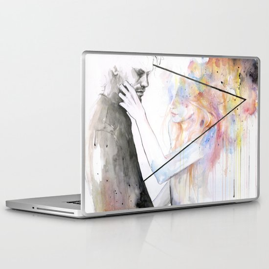two different lights Laptop & iPad Skin