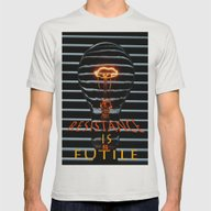 Resistance Is Futile  Mens Fitted Tee Silver SMALL