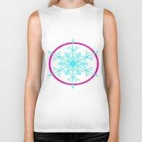 Dream-catching a Snowflake Biker Tank