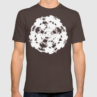 Anja Bigrell - The explosion Mens Fitted Tee Brown SMALL