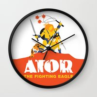 Ator: The Fighting Eagle Wall Clock