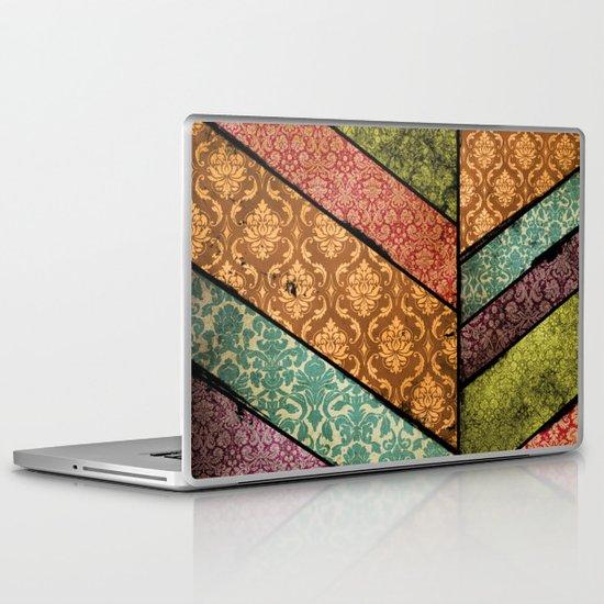 Vintage Material Chevron Laptop & iPad Skin