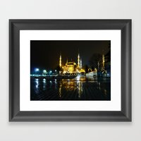 Istanbul Night (Turkey 2… Framed Art Print