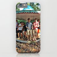 iPhone & iPod Case featuring Fountain people by Li9z