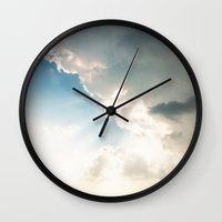Storm Clouds Wall Clock
