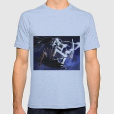Ride the Lightning Mens Fitted Tee Athletic Blue SMALL