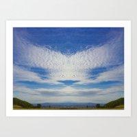 Spirit In The Sky Art Print