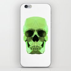 Polygon Heroes - Emerald Skull iPhone & iPod Skin