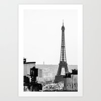 From On Top Of The Hill Art Print
