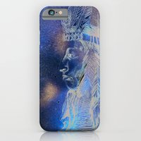 iPhone & iPod Case featuring Red Indian by Michelle Pegrume