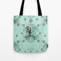 Mermaid Deco Tote Bag