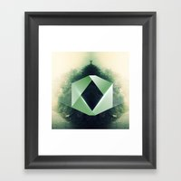 GreenD Framed Art Print