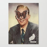 BING CROSBY.  (PIN-UPS). Canvas Print
