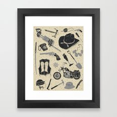 Artifacts: Walking Dead Framed Art Print