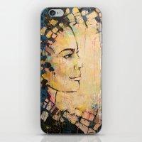 Looking To The Future -b… iPhone & iPod Skin
