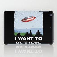 I Want To Be Steve iPad Case