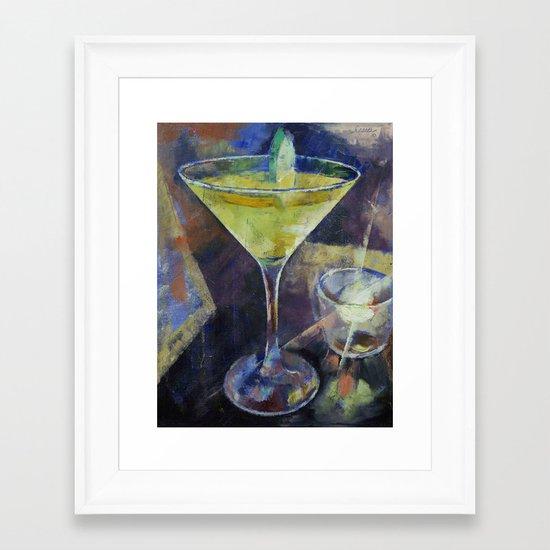 Appletini Framed Art Print