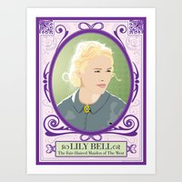 Hell On Wheels - Lily Be… Art Print