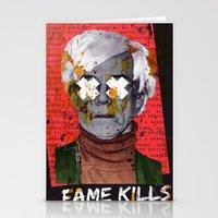 Fame Kills Stationery Cards