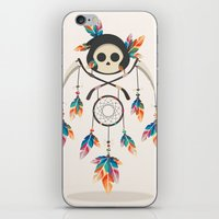 Angel De La Muerte iPhone & iPod Skin