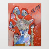 B L A M E Canvas Print