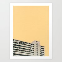 Hot in the City Art Print