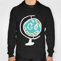 Just Go - World Globe Hoody