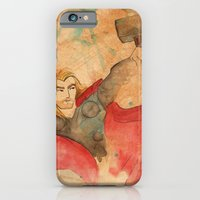 iPhone & iPod Case featuring Thunder by Sarah J