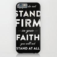 Isaiah 7:9b iPhone 6 Slim Case