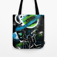 Space Painting Tote Bag