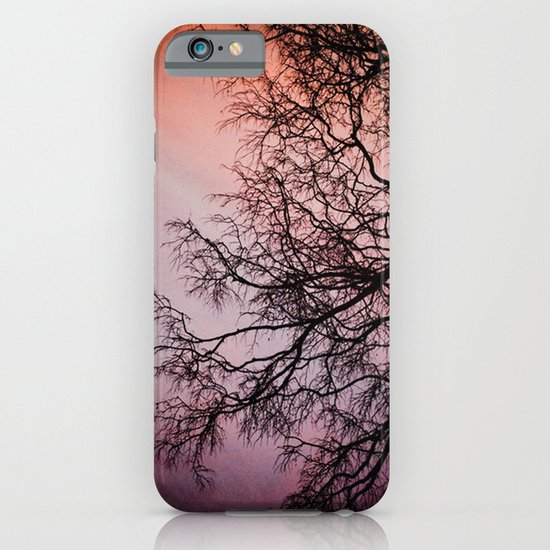 Purple & Fire iPhone & iPod Case