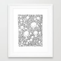 Sticking Together Framed Art Print