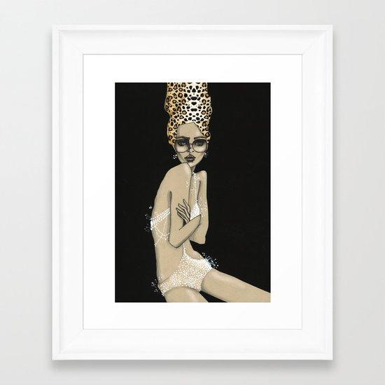 So Noir I Framed Art Print