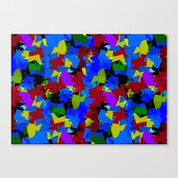Tutti-Fruity Canvas Print
