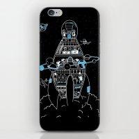 Interstellar Travels iPhone & iPod Skin