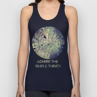 Admire The Simple Things Unisex Tank Top