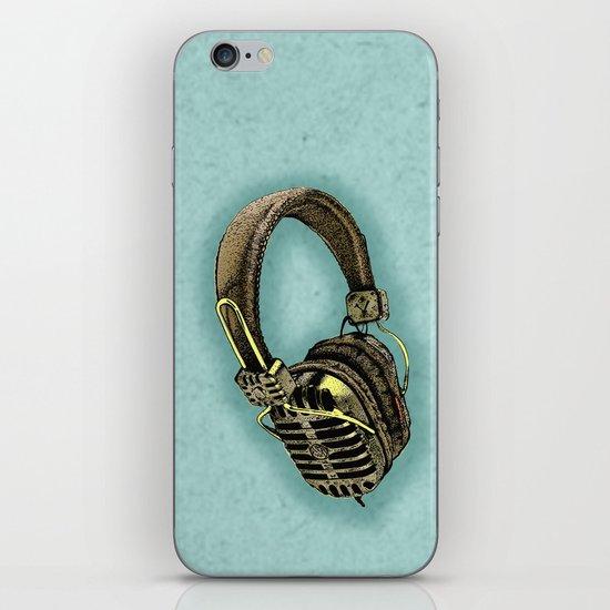 HEAD PHONE iPhone & iPod Skin