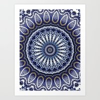 China Blue Art Print