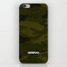 Modern Woodgrain Camouflage / Greenwoods DPM iPhone & iPod Skin