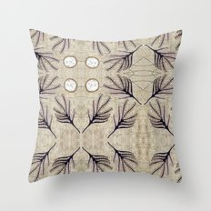 Seeds and Ring Throw Pillow