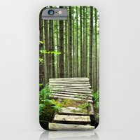 iPhone & iPod Case featuring Bike Trail, BC by Charlotte Keirle
