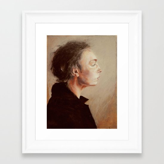the hours Framed Art Print