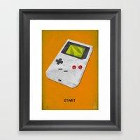 GameBoy Framed Art Print