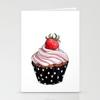 Cupcake 03 Stationery Cards